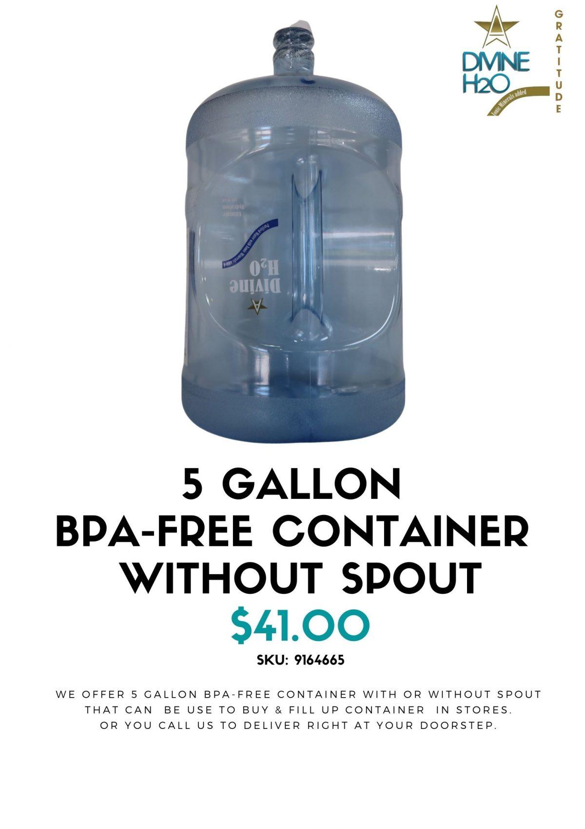 Gallon Container
